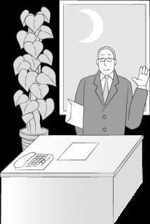 オフィスの上司