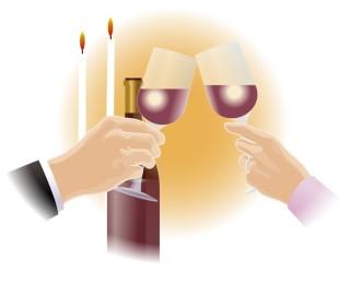 記念日に乾杯