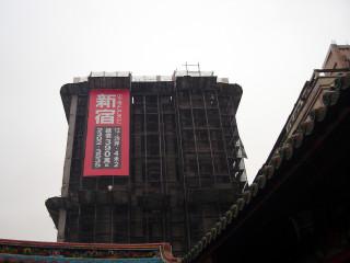 龍山寺からの風景